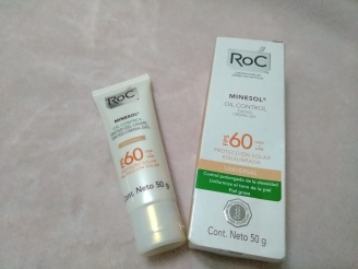 roc minesol oil control tinted 60 gel creme universal