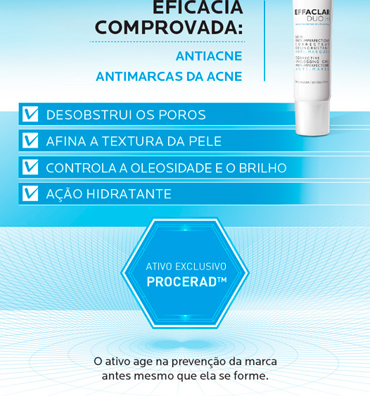 Effaclar Duo Antiacne pra que serve