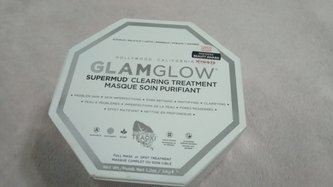 glamglow supermud testei máscara glamglow supermud clearing treatment masque soin purifiant resenha glamglow