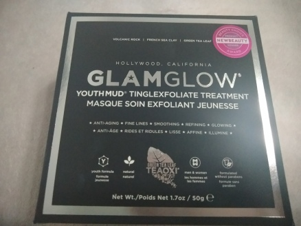Máscara GLAMGLOW Youthmud esfoliante resenha youthmud glamglow